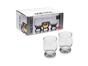 "Набір склянок 310 мл для віскі Aquatic упаковка 6 шт ""Pasabahce"""