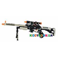 Игрушечная снайперская винтовка черная Same Toy Bison Shotgu DF-20218BZU