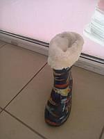 Сапоги резиновые для мальчика размер 28 - 31