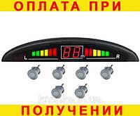 Парктроник (парковочная система) 6 датчиков серый