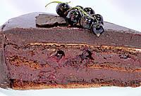 """Смородиново-шоколадный торт """"Чуао"""""""