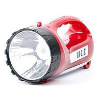 Фонарь аккумуляторный 1 LED 5W+15 SMD INTERTOOL LB-0101, фото 1