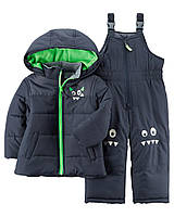 Детский зимний костюм куртка и полукомбинезон Картерс для мальчика,  р. 105 см (4Т)