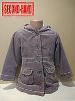 Пальто на девочку 4-5лет. Осень, зима;