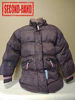 Пальто на девочку 4-5лет. Зима;
