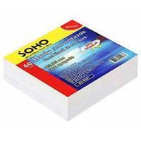 Блок бумаги для записей, 85 мм х 85 мм, 300 листов, не клееный, белый, Soho (3829.1)