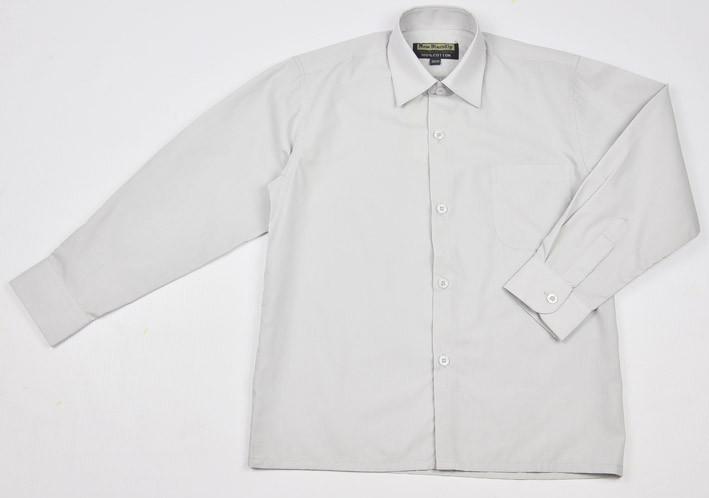 Светло-серая рубашка New Blandly