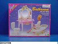 """Мебель """"Gloria"""" 2316 ванна, умывальник с зеркал и тумбой,унитаз"""