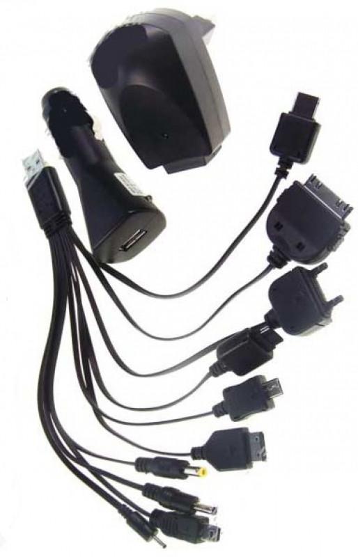 Универсальная зарядка 683 Mobi charger 10in1 адаптер 220V адаптер Car ZN