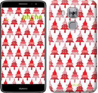 "Чехол на Huawei Nova Plus Christmas trees ""3856c-961-716"""