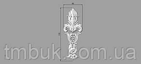 Вертикальный резной декор 3 - 60х170 мм, фото 2