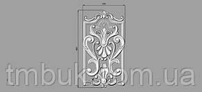 Вертикальный резной декор 8 для филенок - 250х460 мм, фото 2