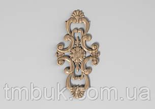 Вертикальный резной декор 10 - 100х202 мм, фото 2