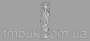 Вертикальный резной декор 15 - 80х400 мм, фото 2