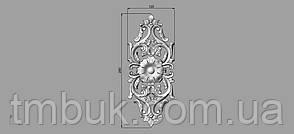 Вертикальный резной декор 16 - 120х290 мм, фото 2