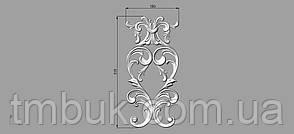 Вертикальный резной декор 18 - 150х315 мм, фото 2