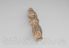 Вертикальный резной декор 24 для наличников - 60х230 мм , фото 2