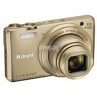 Ультра-компактный фотоаппарат Nikon Coolpix S7000 Gold