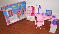 Мебель для куклы Офис Gloria 24018