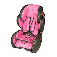 Автокресло BabySafe Sport VIP - green,гр. 1-2-3,(9мес-12лет)
