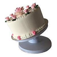 Подставка вращающаяся для работы с тортом с наклоном, фото 1
