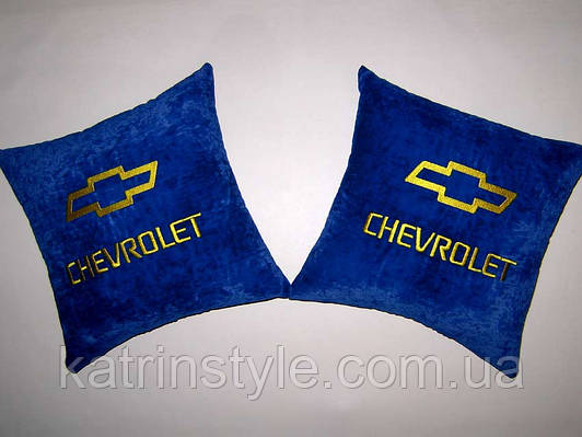 Сувенирная автомобильная подушка Chevrolet