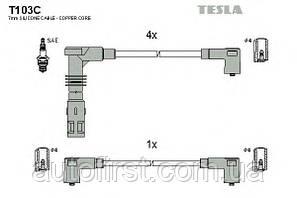 Высоковольтные провода Tesla T103C для VW