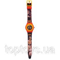 Часы аналоговые TBL Звездные войны Оранжевые (SW35233)