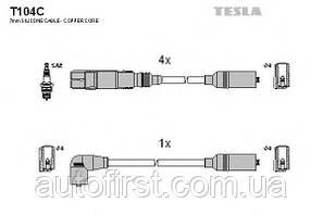 Высоковольтные провода зажигания Tesla T104C для VW