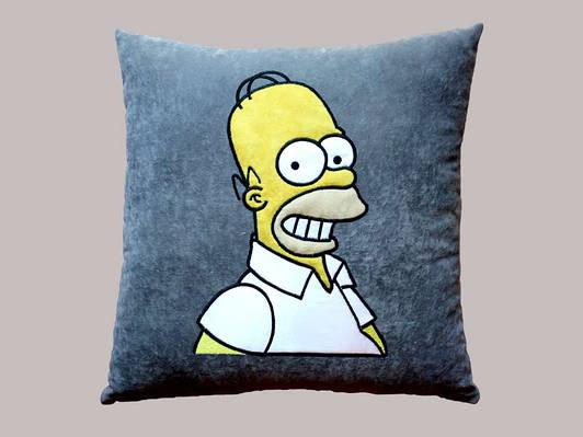 Сувенирная подушка Симпсон