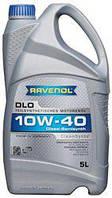 Полусинтетическое Моторное Масло (полусинтетика) Ravenol DLO Diesel (Равенол дизель) 10w-40 5л