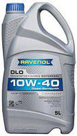 Напівсинтетичне Моторне Масло (полусинтетика) Ravenol DLO Diesel (Равенол дизель) 10w-40 5л
