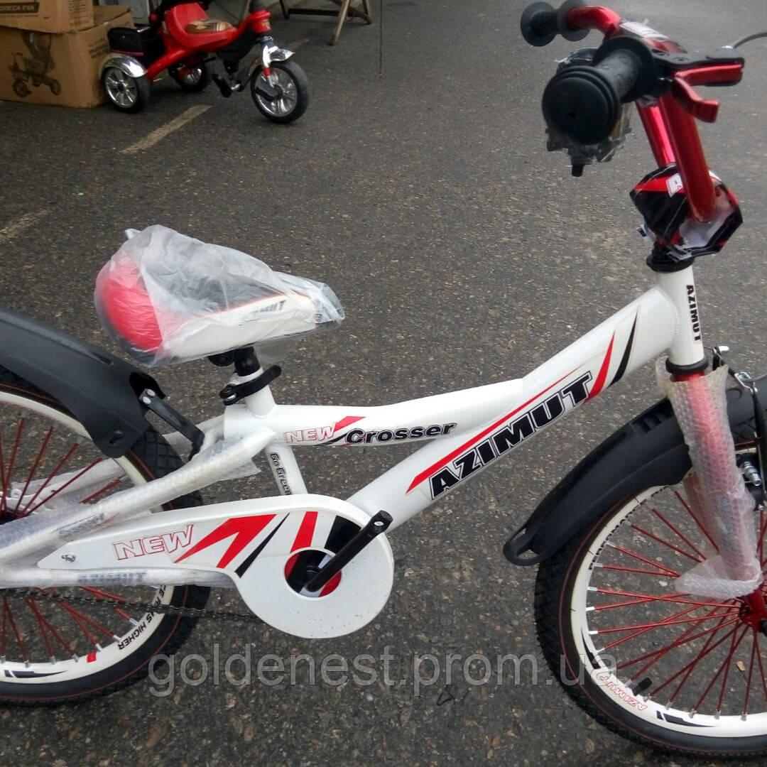 Детский велосипед  Azimut 20 дюймов от 6 до 11 лет