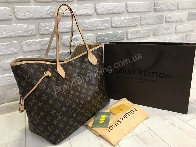 8a345ab80cdc Стильная сумочка (сумка ) Louis Vuitton Lux neverfull 1736 - купить ...