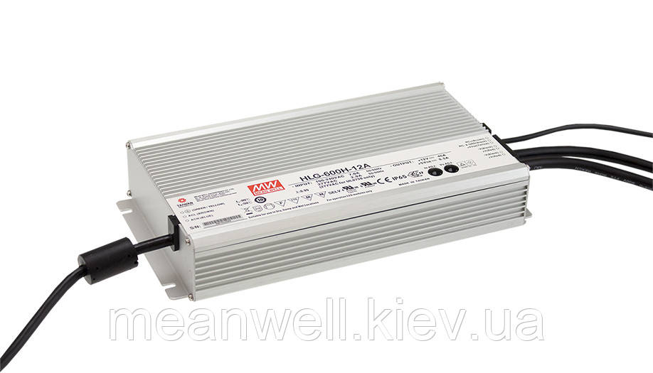 HLG-600H-12B Блок живлення Mean Well 480 вт, 40A, 12в IP67.