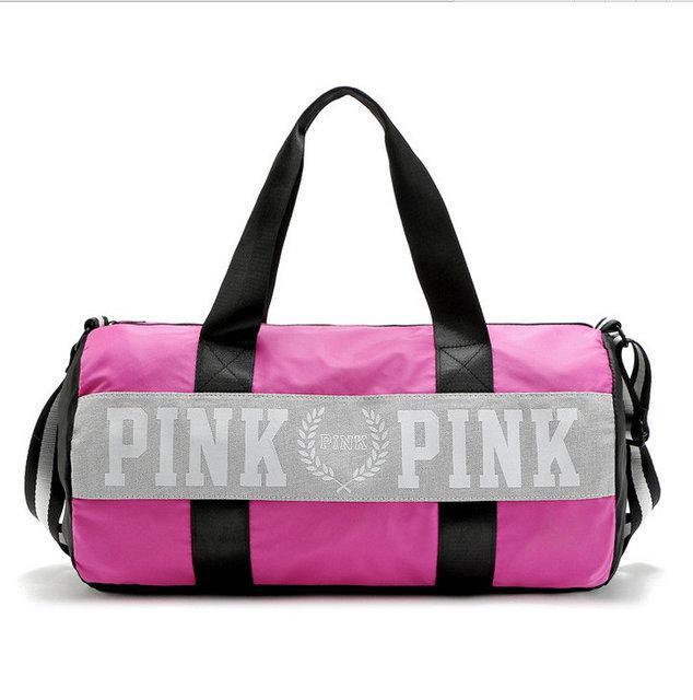 45ac6c08c949 Сумка спортивная, дорожная текстильная розовая Victoria's Secret Pink