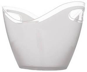 Чаша для шампанского 3,3 л. прозрачная пластиковая