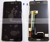 Дисплейный модуль (дисплей с сенсором в сборе) Nokia 6 Black  20PLEBW0001 (оригинал)
