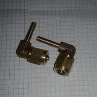 Переходник для трубки ПВХ 6 Faro 90 градусов 9.6 на 5