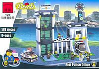 Конструктор BRICK 129 полицейский участок, 589 дет