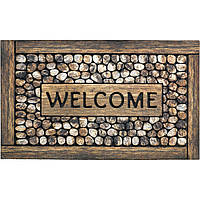 Ковер Eco Master Welcome Framed Pebbles (45*75)