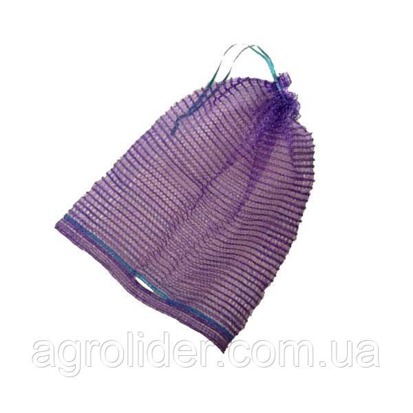 Сетка-мешок овощная с ручкой 30х47 (до 10 кг) Фиолетовая