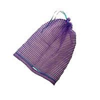 Сетка-мешок овощная с ручкой 30х47 (до 10 кг) Фиолетовая, фото 1