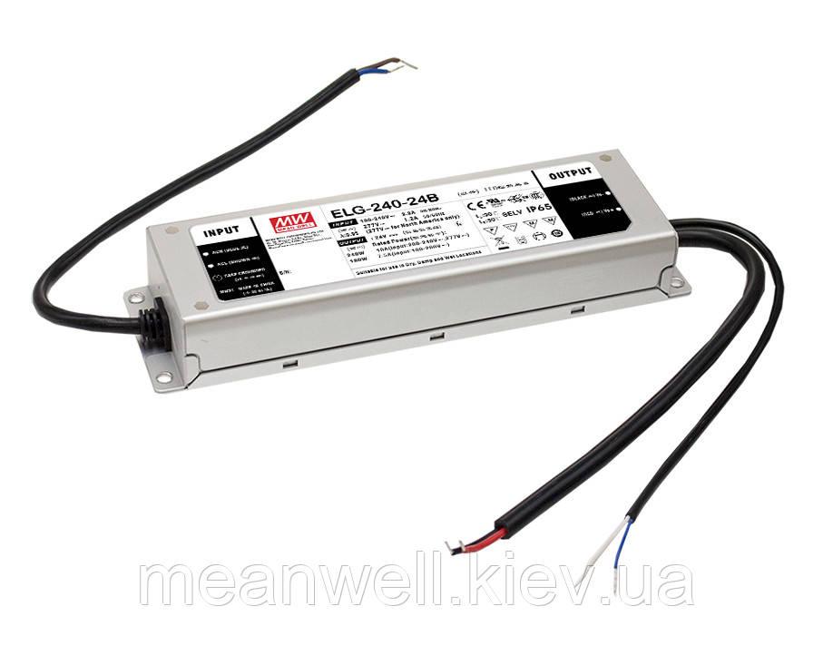 ELG-240-54A Блок питания Mean Well 240.3вт, 4.43А, 50 ~ 57в  ІР67 драйвер питания светодиодов LED