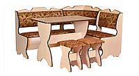 Кухонный уголок Комфорт со столом и двумя табуретами. Честная цена!