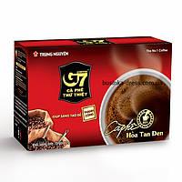 Вьетнамский Чистый черный растворимый кофе G7 TRUNG NGUYEN COFFEE (15 пакетиков по 2г)