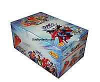 Шоколадный рожок Justice League 24 шт (Bonart)