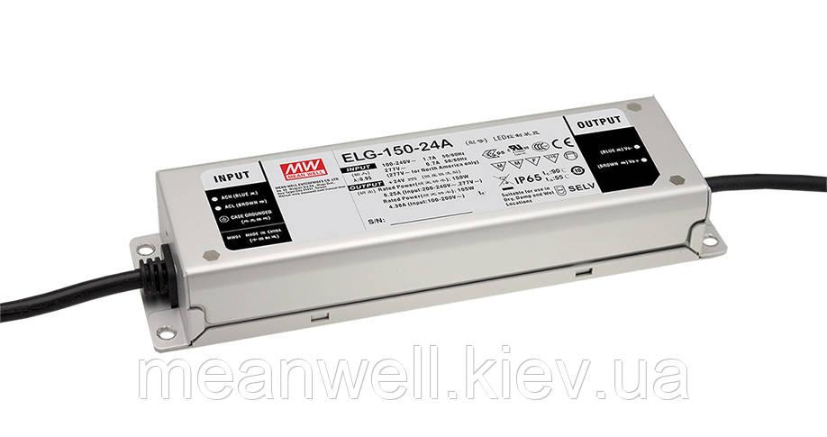 ELG-150-C1400B Блок питания Mean Well 149.8вт, 1400mA, 54 ~ 107в  ІР67 драйвер питания светодиодов LED