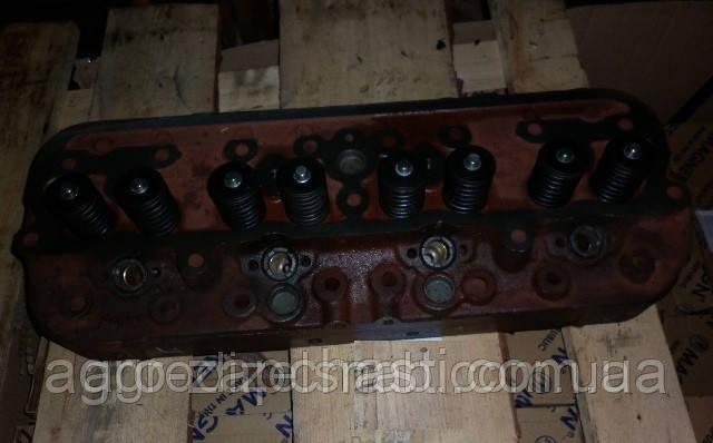 Головка блока цилиндров ЮМЗ с клапанами тракторная
