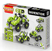Конструктор серии INVENTOR 12 в 1 Автомобили Engino (1231)